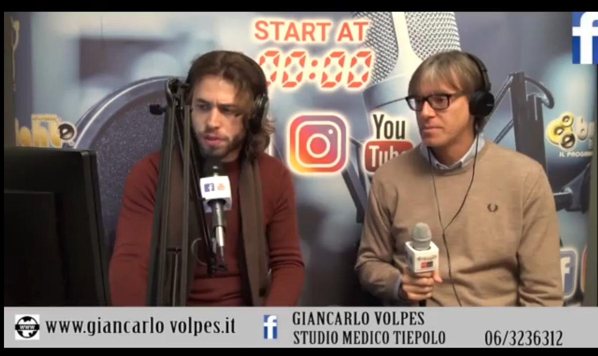 Video intervista RadioRadio byNight Roma